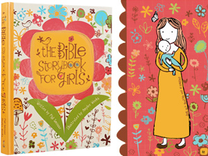 The Bible Storybook for Girls - Phil A. Smouse - Illustrated by Amylee Weeks