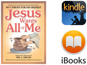 Jesus Wants All of Me - for Kindle and IOS